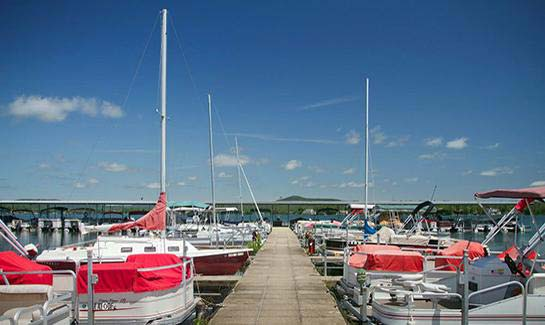 Hot Springs Village includes two full-service marinas with boat rentals.