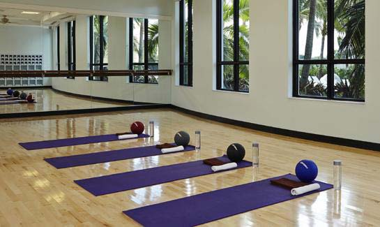 Ibis offers numerous group exercise, spinning, yoga and Pilates classes throughout the week.