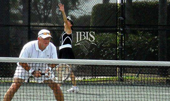 Tennis is one of the most popular activities in the community, with 14 Har-Tru courts