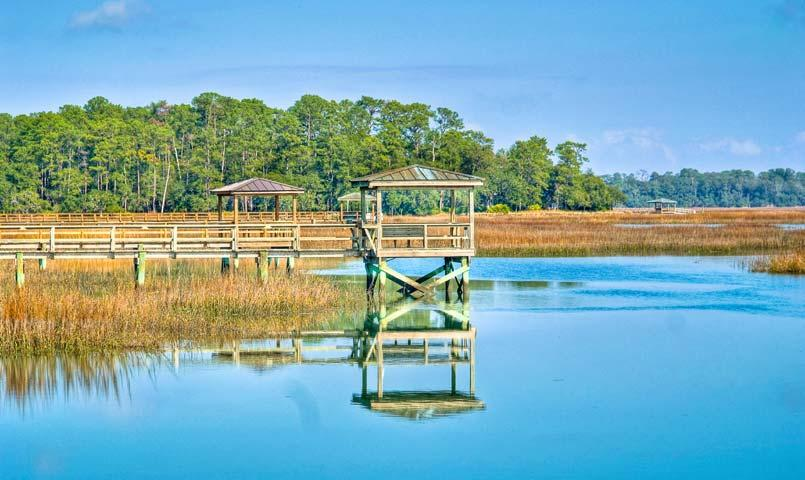 Docks at Islands of Beaufort