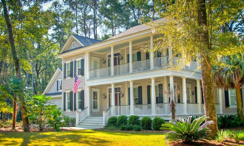 Two-story home at Islands of Beaufort