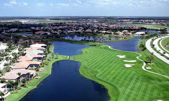 Legacy Hole #9 at Lakewood Ranch