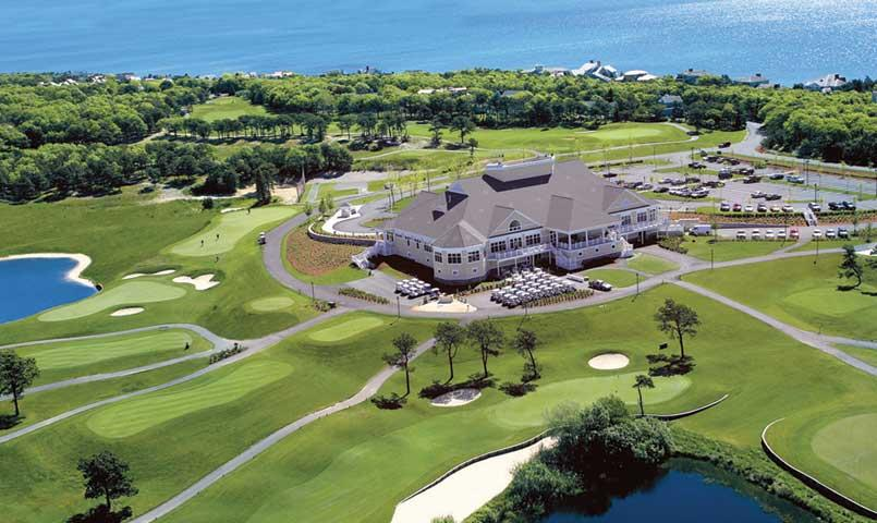 Clubhouse at New Seabury