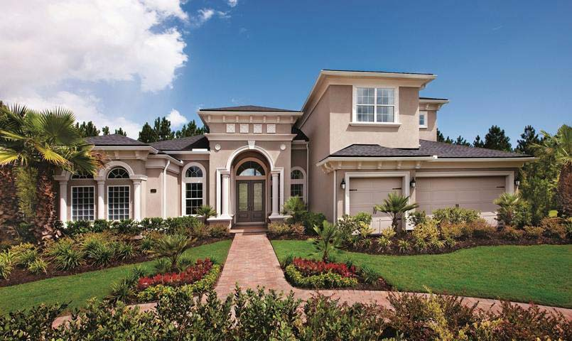 The Rinaldi model home in Coastal Oaks at Nocatee