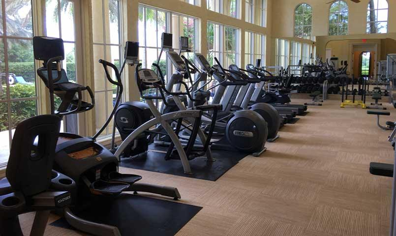 Fitness Center at Old Palm Golf Club