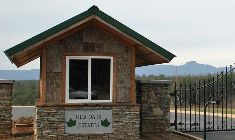 Old Oaks Estates Entrance