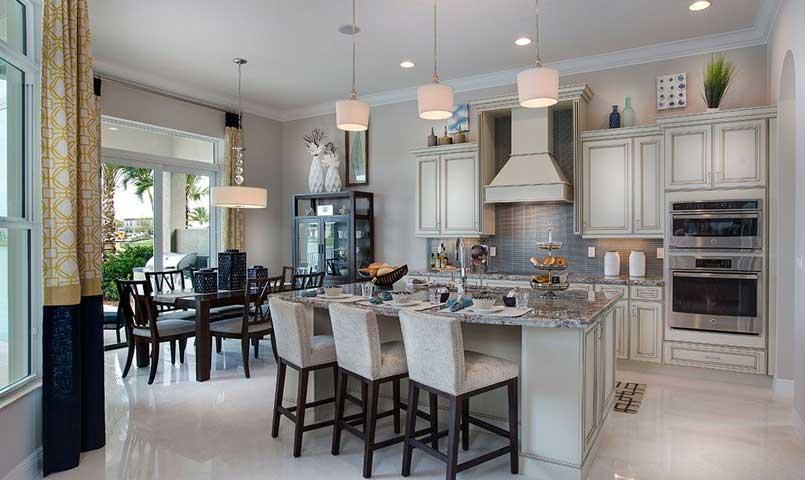 Bellacerra model Kitchen and 2016 winner of the Southeastern Builder's Conference Grand Aurora Award for Best Single Kitchen Under $500,000