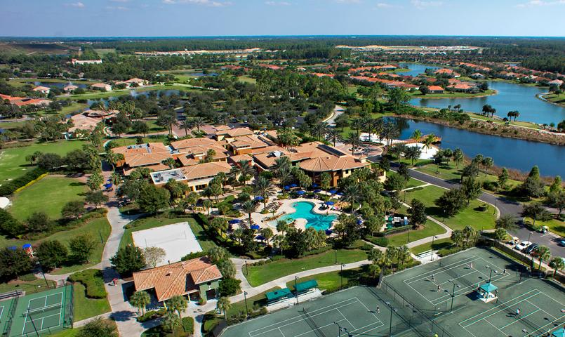 The Plaza del Sol Town Center at Pelican Preserve