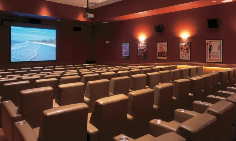 Plaza del Sol features a private 99-seat theatre
