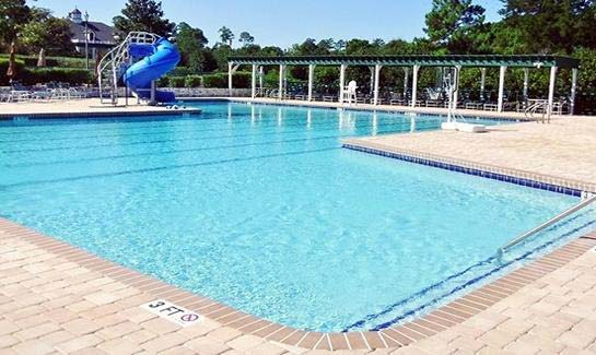 Family Style Pool & Lap Pool with Snack Bar at Porters Neck Plantation