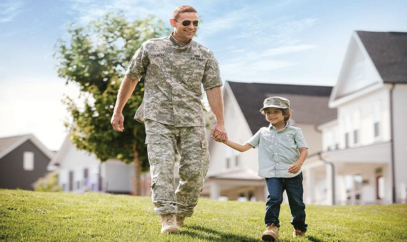 Potomac Shores for military families