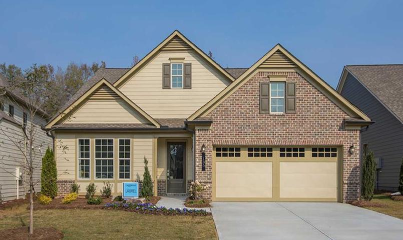 Laurel Model with 2 Bed, 2 Bath, Den, Great Room with 11' Ceilings and option for a 3rd Bedroom