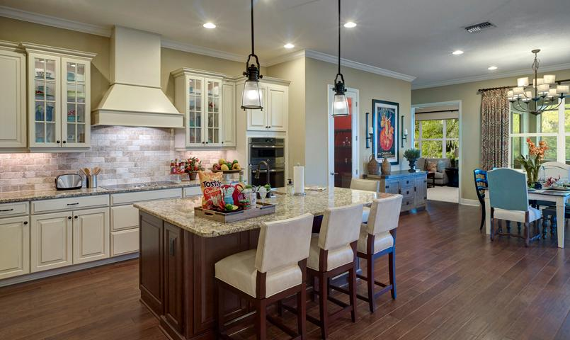 Carmel Model Home at River Wind