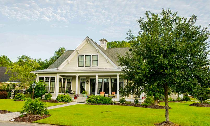 Beautiful Lowcountry-inspired architecture mingles with the latest details to make your home perfect.