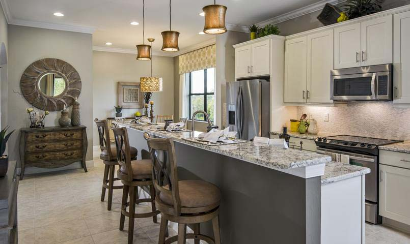 Sarasota National's Carrara Model - Kitchen