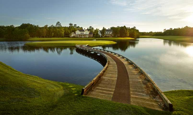 15th Hole of the Greg Norman Signature Golf Course at Savannah Quarters