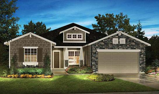 Shea homes at jubilee 55 golf community in lacey wa for Jubilee home builders