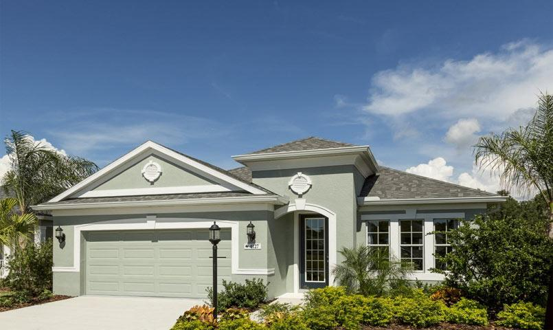 Freshwater 2 Model Home at Silverleaf community in Parrish, FL