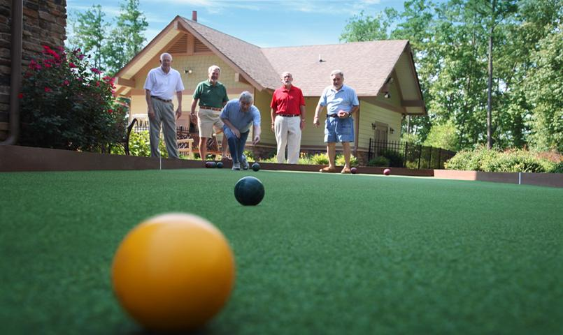 Numerous activities bring Soleil residents together and neighbors become lifelong friends.