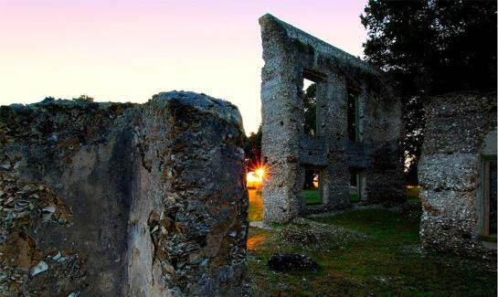 The Old Tabby Ruins date back to the 1800's and serves as a backdrop to several Spring Island community events.