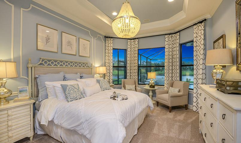 Farnese VII Model Home - Master Suite