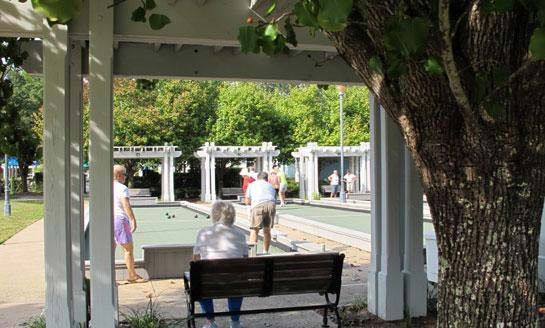 Sun City's Bocce Courts