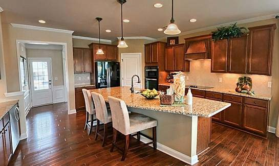 Castle Rock Model – Kitchen at Sun City Hilton Head