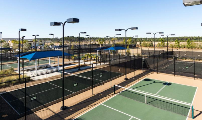 Sun City Hilton Head by Del Webb Pickleball Courts