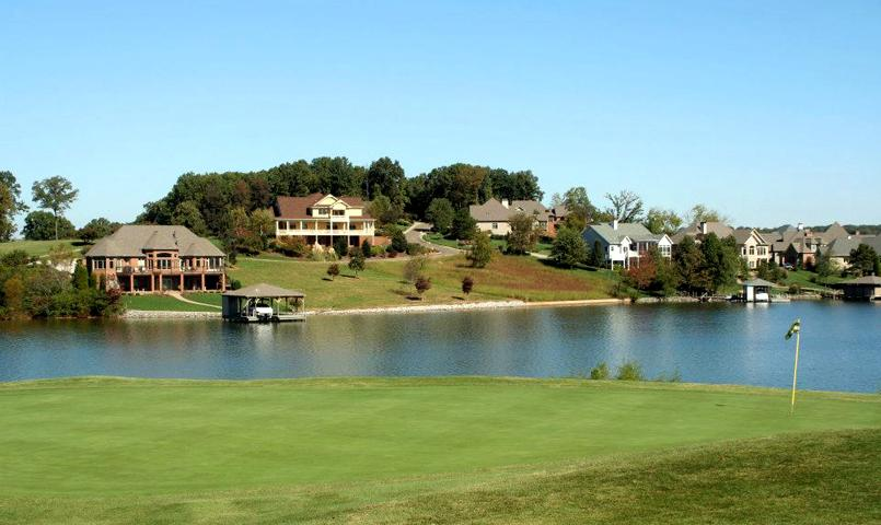 Lakefront homes at Tellico Village in Loudon, TN