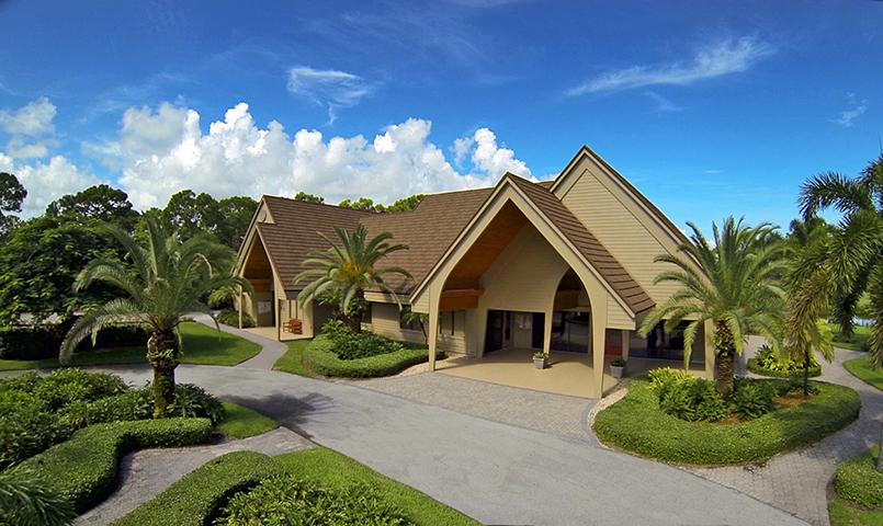 The Chapel at Mariner Sands plays host to Sunday services, weddings and more.