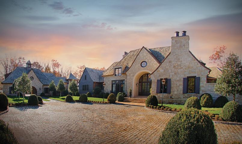 Stone home at The Cliffs at Mountain Park