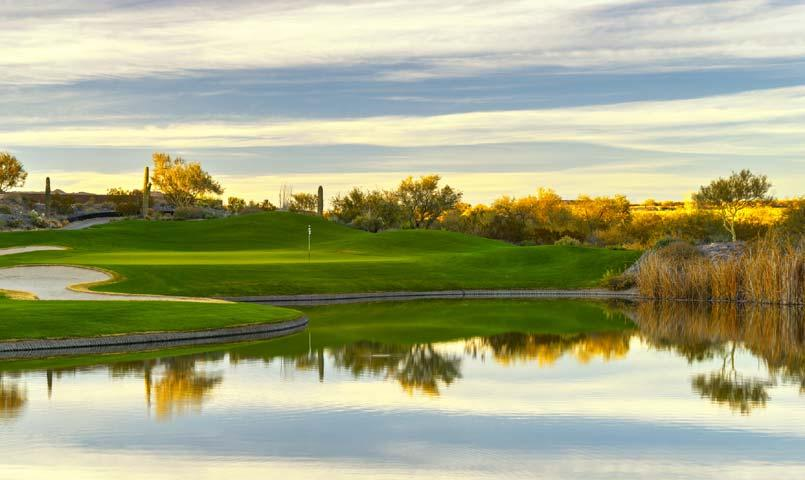 Trilogy® at Wickenburg Ranch golf course pond