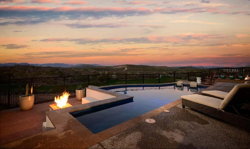 Residence swimming pool at Trilogy® at Wickenburg Ranch