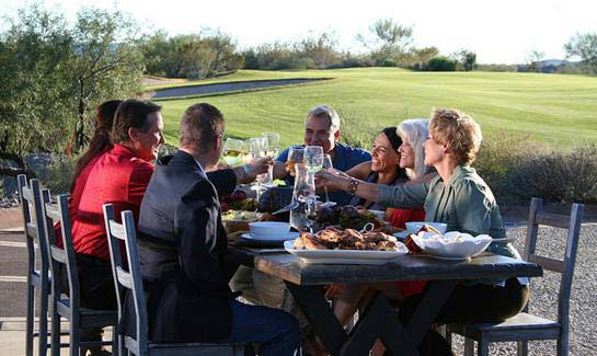Trilogy® at Wickenburg Ranch clubhouse dining