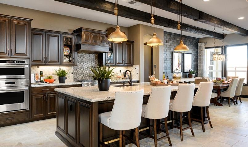 Mistelle Model Home kitchen