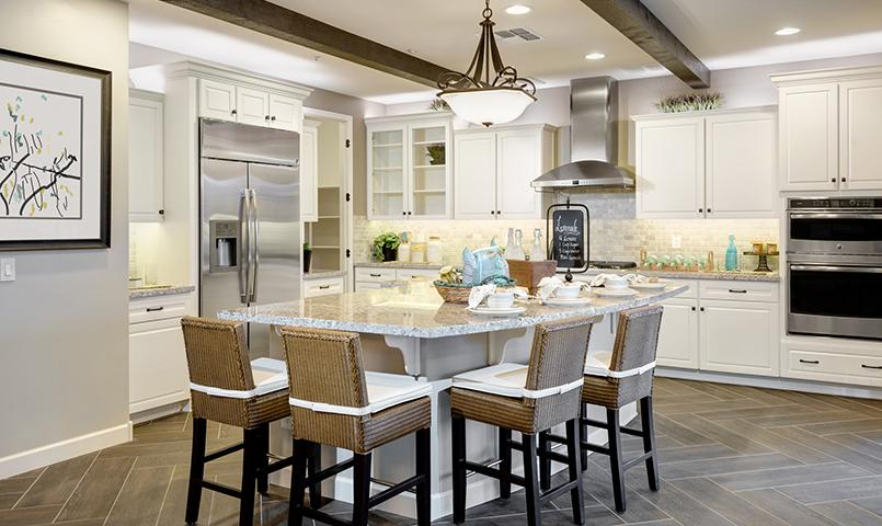The Clarity model kitchen at Trilogy at Vistancia