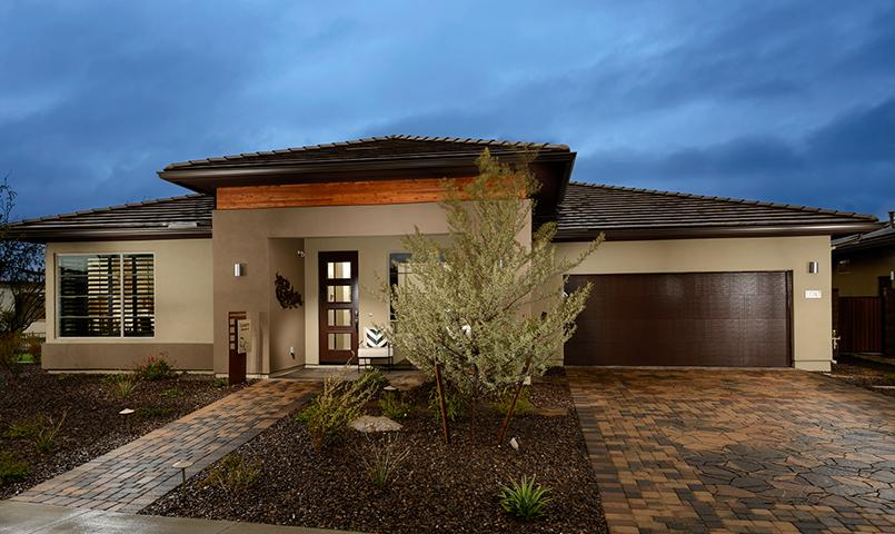 The Clarity model home at Trilogy at Vistancia