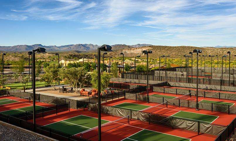 Trilogy® at Wickenburg Ranch Courts & Sports complex