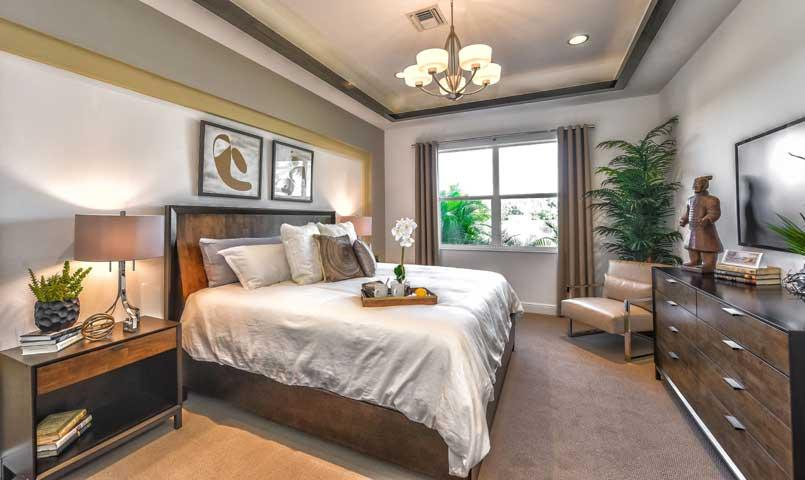 Master Bedroom York University Village university village | gated community in sarasota, florida