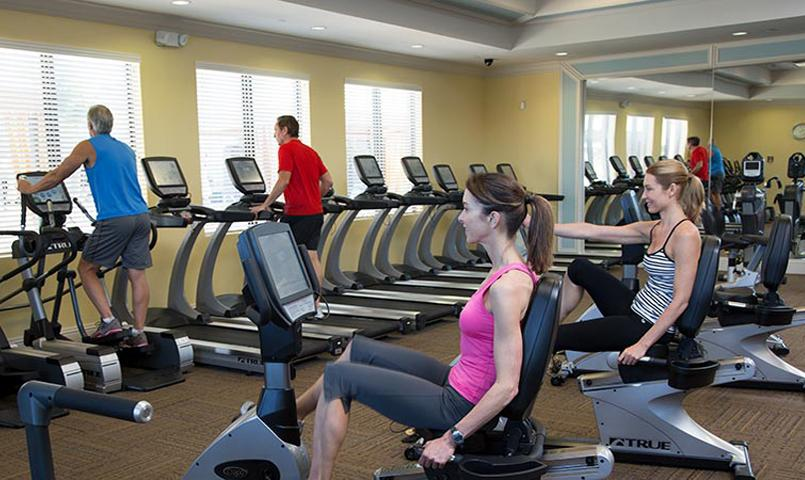 Fitness Center at Valencia Bonita