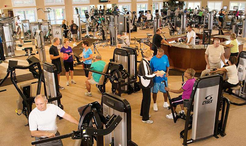 The BellaVita Fitness Center at Villages of Citrus Hills offers 250 fitness classes each month.
