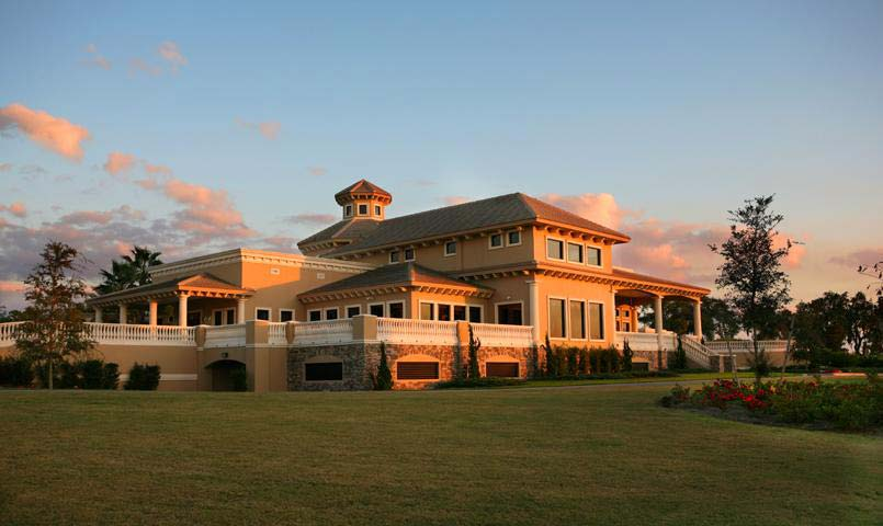 Three clubhouses within the community offer private dining and numerous social activities and clubs.