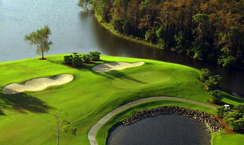Two championship golf courses at the Vineyards challenge players of all skill levels