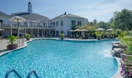 Virginia heritage at lee 39 s parke 55 retirement community in fredericksburg va for Dixon park swimming pool fredericksburg va
