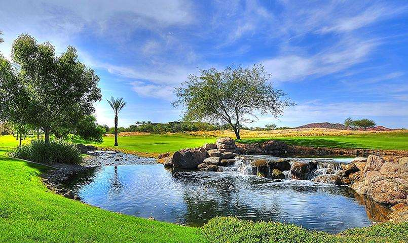 Awarded Golf Digest's highest five-star rating, Trilogy Golf Club at Vistancia winds through scenic desert terrain.