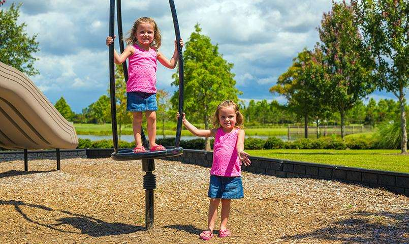 Acres of open space and multiple parks make it perfect for all ages to play.