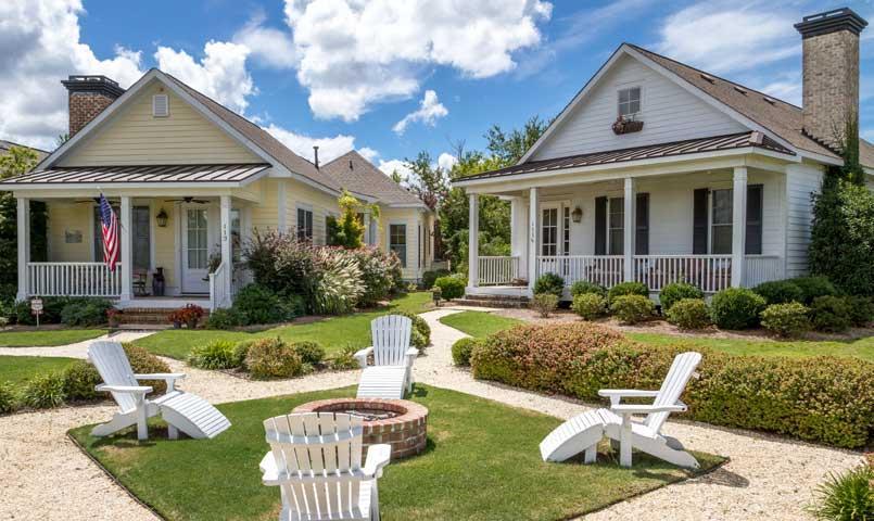 Woodside gated golf retirement community in aiken sc for Home builders aiken sc