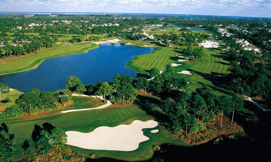 Aerial view of Indian River Club