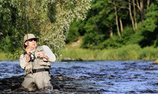 With over 5 miles of river frontage surrounding The Coves, residents enjoy fly fishing in the Johns River.