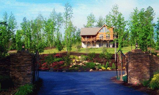 Grandview Peaks' gated entrance provides residents security and peace of mind.